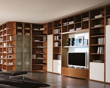 Mobililibrerie mobili librerie librerie moderne for Librerie design outlet