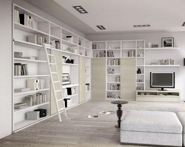 mobililibrerie, mobili librerie, librerie moderne, librerie design ...