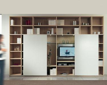 mobili librerie, librerie moderne, librerie design, soggiorni librerie ...